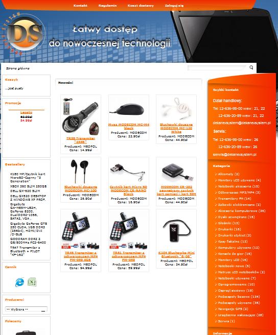 dekanexsystem.pl Image
