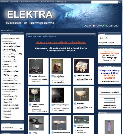 elektra-lampy.pl Image