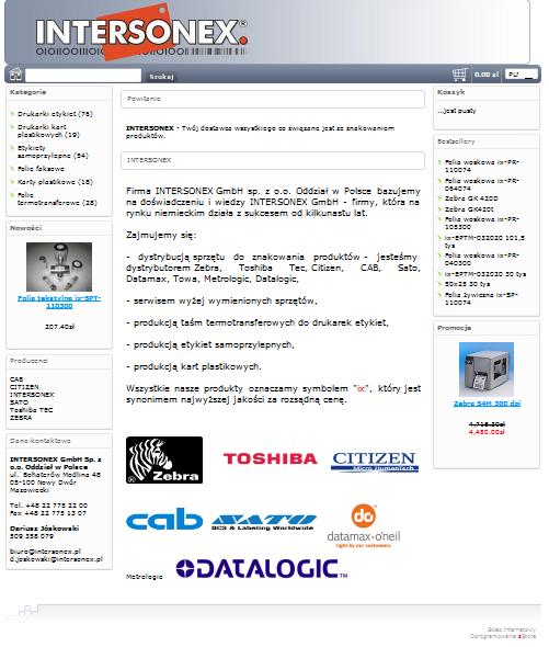 intersonex.pl Image