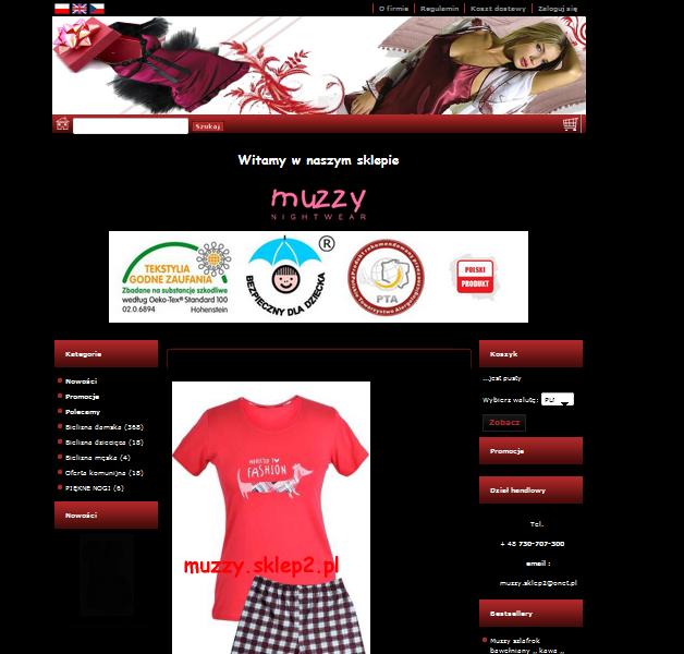 muzzy.sklep2.pl Image