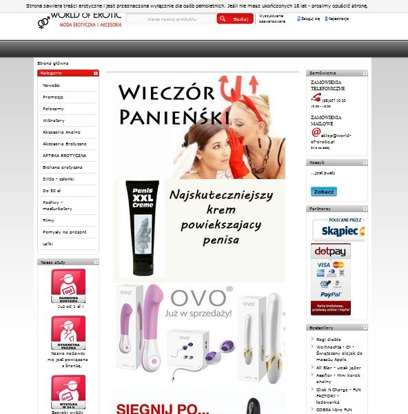 worldoferotic.pl Image