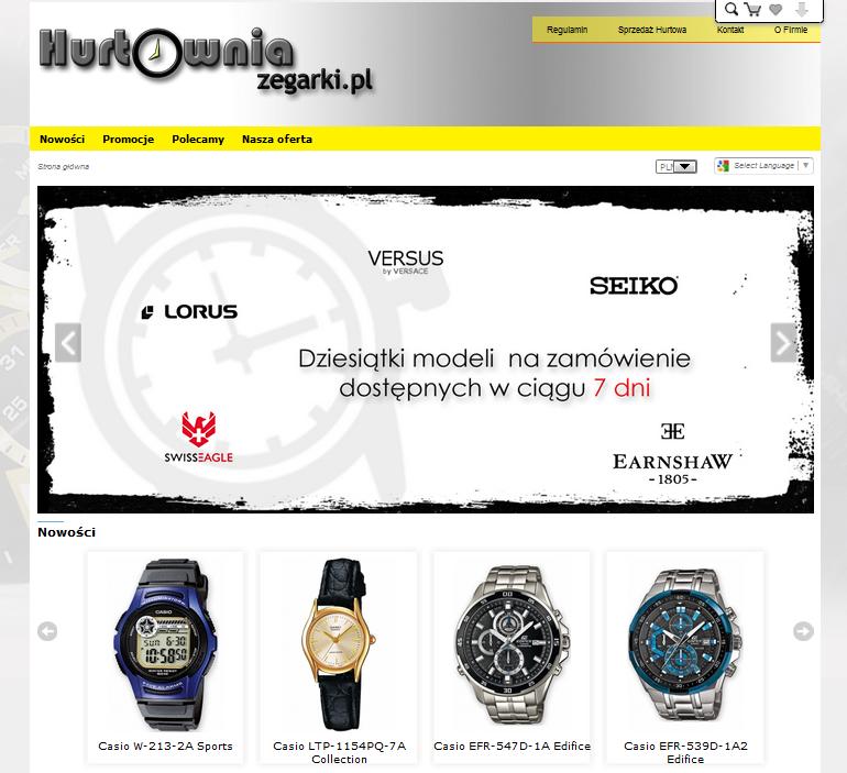 hurtowniazegarki.pl Image