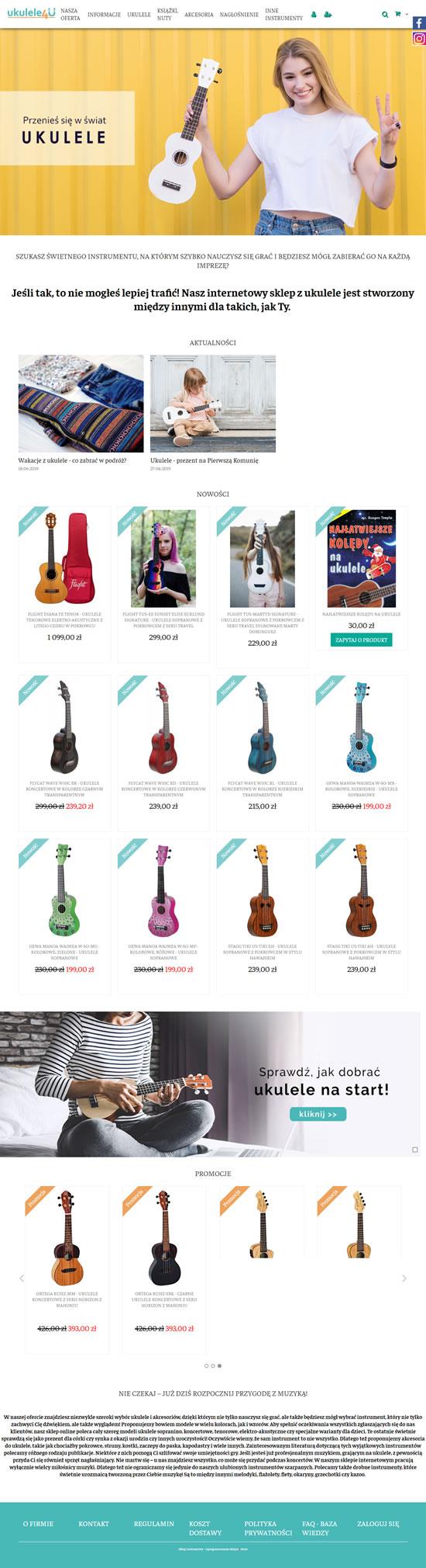 ukulele4u.pl Image