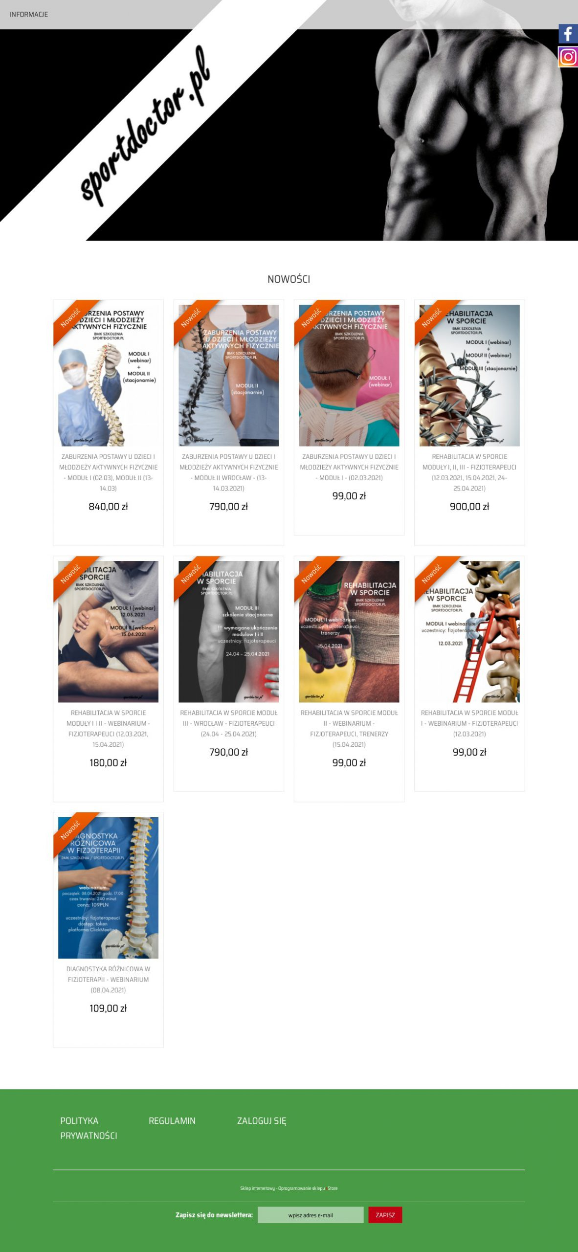 sportdoctor.sstore.pl Image